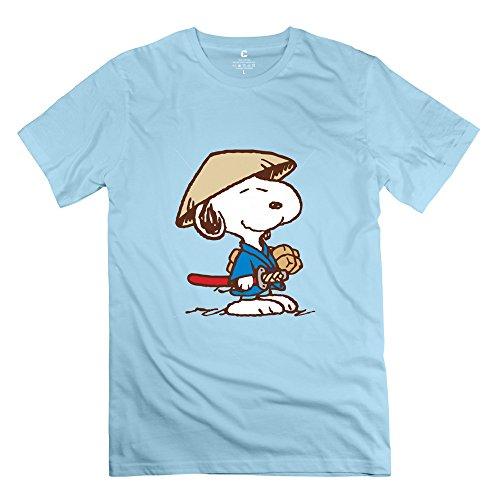KST Herren T-Shirt Gr. Small, Blau - SkyBlue (Brown Charlie Halloween-t-shirt)
