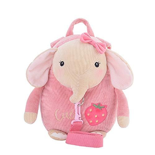 MeToo - Mochila infantil con arnés de seguridad rosa rosa - elefante Talla:pequeño
