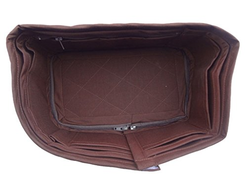 CHACREYAS BAG ORGANIZER BASE FITS FOR SPEEDY 30 CHOCOLATE BROWN COLOR (Shaper Base Speedy)