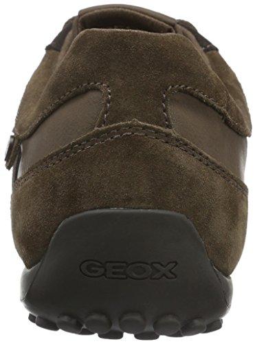 Geox Uomo Snake B, Baskets Basses Homme Braun (CIGARC6007)