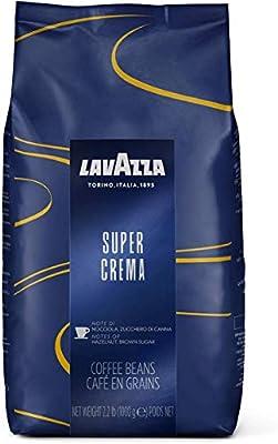 Lavazza Super Crema Coffee Beans (1kg) by Lavazza