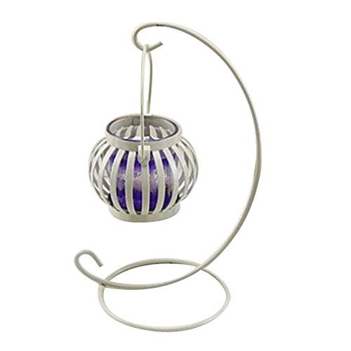 metall - kürbis aushöhlen hängen kronleuchter lampe hängen laterne hängen stehen holdercandle inhaber nach hause docer (ohne weißen kerze)