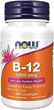 Now Foods Vitamin B-12 1000 Mcg Lozenges - 100 Capsules