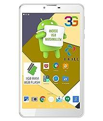I KALL N9(1+8GB) Dual Sim 3G Calling Tablet- White