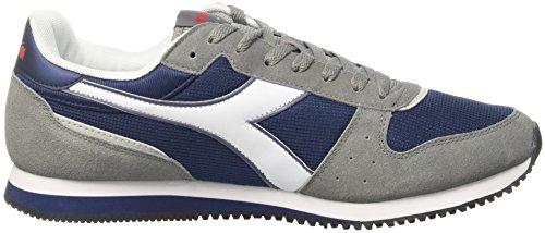 Diadora Malone, Sneaker a Collo Basso Unisex – Adulto Blu (Blue Estate/Grigio Ghiaccio)