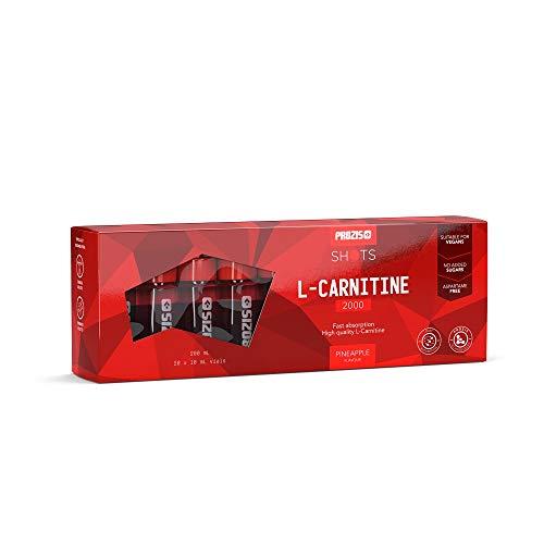 Prozis L-Carnitine 2000 Citron 20 Flacons