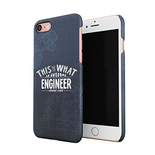 Trust Me I Am An Engineer Custodia Posteriore Sottile In Plastica Rigida Cover Per iPhone 7 & iPhone 8 Slim Fit Hard Case Cover Awesome Engineer