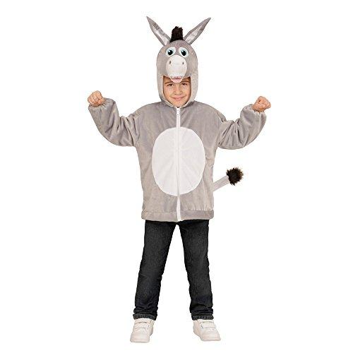 PARTY DISCOUNT Neu Kinder-Kostüm Plüschjacke Esel, Gr. ()
