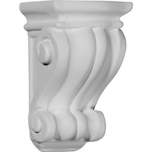Pilaster Corbel (Ekena Millwork COR03X03X06CO 3 1/8-Inch W x 3-Inch D x 5 1/4-Inch H Traditional Cole Pilaster Corbel by Ekena Millwork)