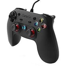 GameSir G3w Controller di Gioco con Cavo, Gamepad per Android Smartphone/Windows PC / PS3 (Senza Supporto per Mobile) …