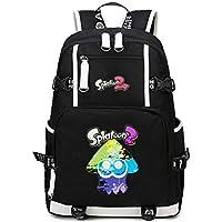 a37a2aa2438fe Cosstars Splatoon Anime Backpack Schüler Schultasche Laptop Rucksäcke  Freizeittasche Daypack