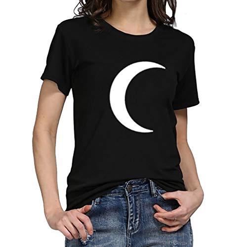 PorLous T-Shirt, Frau 2019 Kurze Ärmel Mode Frauen Plus Größe Sommer Lässig Rundhals Top T-Shirt Frauen-Shirt Elegant Bequem Groß