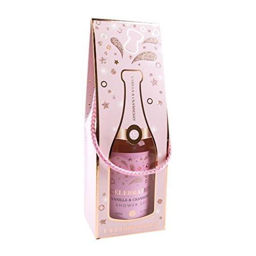 CELEBRATION Bade & Duschgel zum Feiern, Duft: Vanilla & Cranberry, 360 ml
