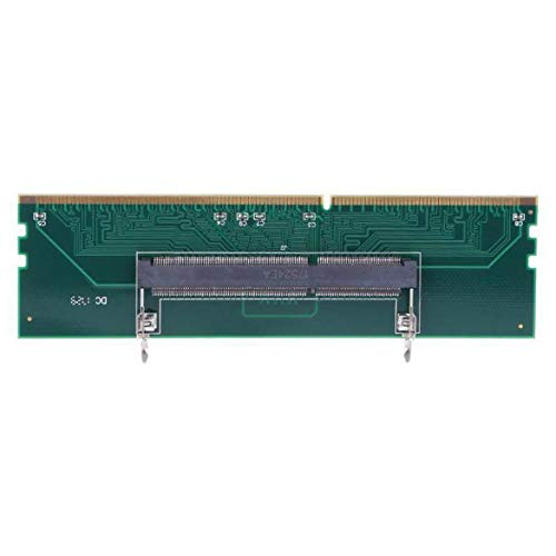 Harlls DDR3 Notebook Speicher zu Desktop Speicheranschluss Adapterkarte 240 zu 204P SO-DIMM zu DIMM Speicheradapter Computerzubehör - Grün