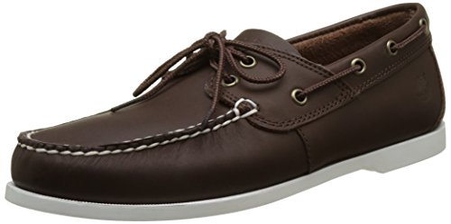 Timberland Cedar bay (Wide Fit), Scarpe da Barca Uomo, Marrone (Chocolate), 43 EU