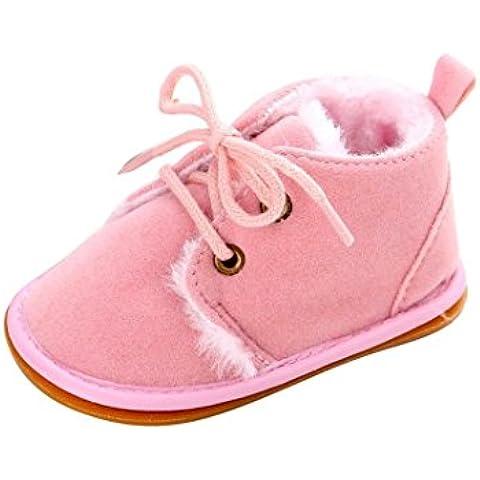 Malloom Bebé niño infantil nieve Botas zapatos suela de goma cuna Prewalker