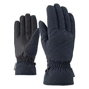 Ziener Damen KIMAL GTX LADY glove Ski-Handschuhe/Wintersport | wasserdicht, atmungsaktiv, Black, 6