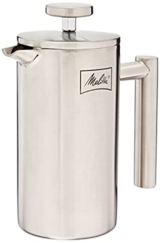 Cafetiere Isotherme Inox - Melitta Cafetière à Piston Isotherme, French Press,