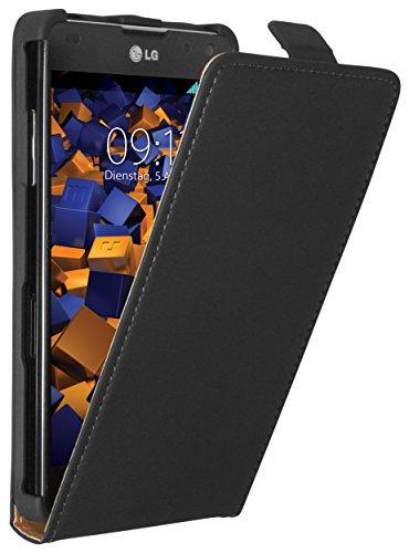 mumbi Flip Case für LG E975 Optimus G Tasche