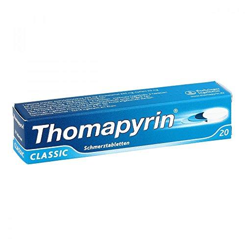 THOMAPYRIN CLASSIC Schmerztabletten 20 St Tabletten