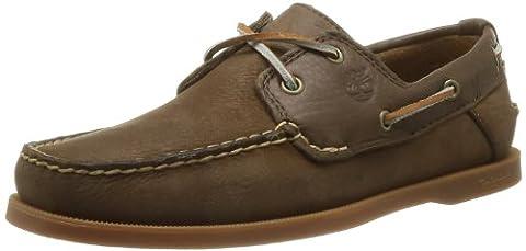 Timberland Ekhert2Eye, Chaussures bateau homme, Marron (Dark Brown), 43.5 EU