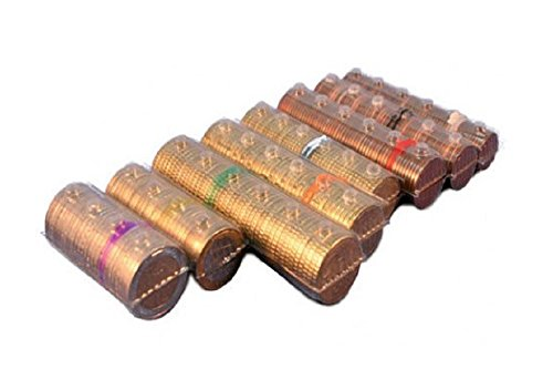 Blister para monedas Euro–Kit 400Blister monedas corte surtidos (50unidades) para corte Euro)