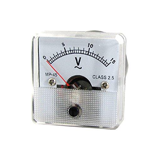 MP - 45 fein einstellbare Dial Panel Meter Voltmeter AC 0-15 V -