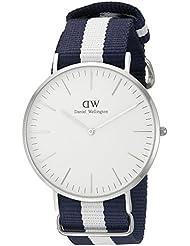 Daniel Wellington Herren-Armbanduhr Analog Quarz Textil DW00100018
