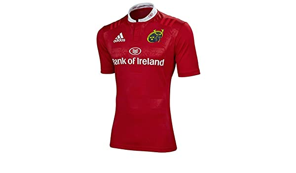e77912484 Munster Home Rugby Shirt 2015/16: Amazon.co.uk: Sports & Outdoors
