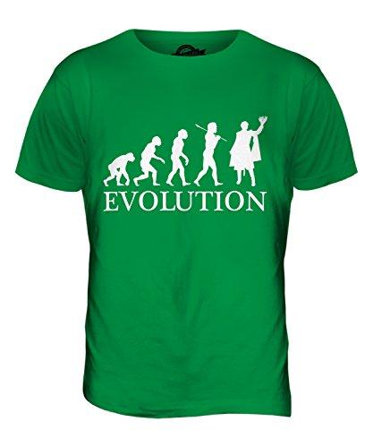 CandyMix Shakespeare König Evolution Des Menschen Herren T Shirt Grün