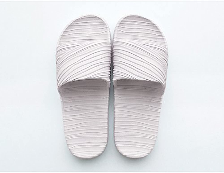 DogHaccd Zapatillas,Home verano indoor parejas zapatillas antideslizantes, casa baño baño zapatillas cool verano...