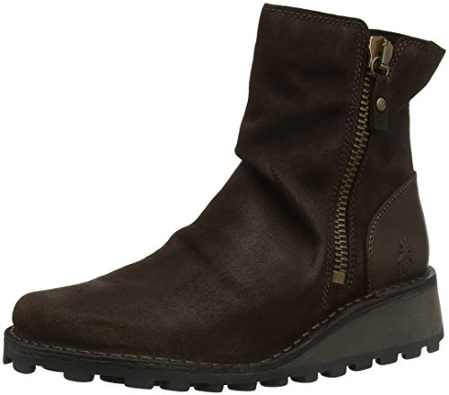 Fly London Mong944fly, Botas Chelsea para Mujer, Marrón Expresso/Dk. Brown 012, 37 EU