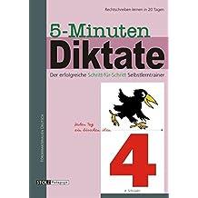 5-Minuten-Diktate, neue Rechtschreibung, 4. Schuljahr