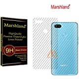 Marshland Back Screen Guard Flexible Designer Back Screen Protector Smart Looking Back Screen Guard Compatible with Realme 2 Pro (Transparent)
