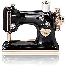 Olydmsky Máquina de Coser del Broche de la aleación Diamante de Personalidad Exquisito Broche Broche de