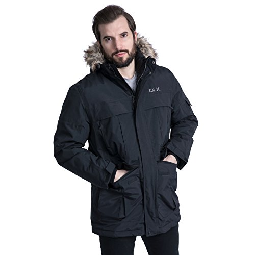 41Fwx2DLw3L. SS500  - Trespass DLX Highland Mens Down Parka Jacket