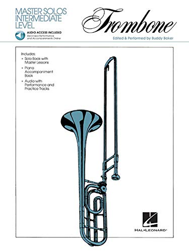 Master Solos Intermediate Level - Trombone: Book/CD Pack [With CD Audio]