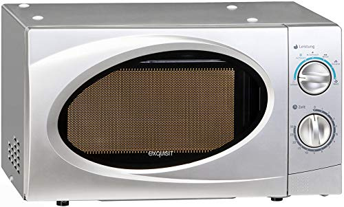 Exquisit MW WP 700J17B-2 Silber WP700j17B-2 Unterbau-Mikrowelle, Eisen, 17 liters