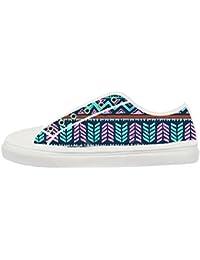 jiuduidodo Zapatos de tenis zapatos de lona de cáñamo de Originals delle Zapatillas Deportivas Bajas de