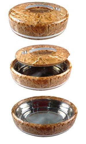 Speisetransportbehälter 5 Liter in Marmor Optik