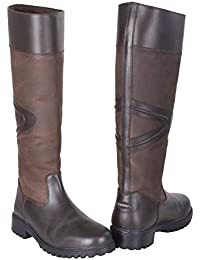 Toggi Rundle Long Leather Country Boot Bitter Chocolate
