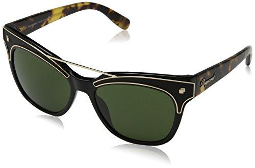Dsquared2 Unisex-Erwachsene Dsquared DQ0216 57-011 01N Sonnenbrille, Schwarz, 55