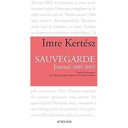 Sauvegarde: Journal 2001-2003 (MEMOIRES, JOURN)