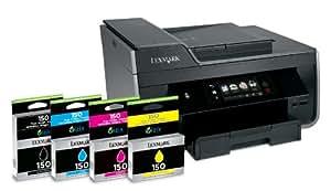 Lexmark Pro915 4-in-1 Multifunktionsgerät (Scanner, Kopierer, Fax, Drucker, WiFi)