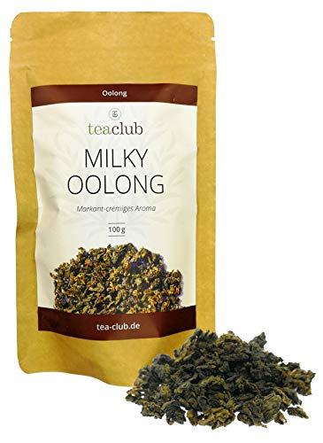 MILKY OOLONG 100g, Premium Oolong Tee Markant-Cremig-Blumig, Oolongtee mit Grüntee Charakter, TeaClub