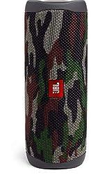 JBL Flip 5 Bluetooth Box - Wasserdichter, portabler Lautsprecher mit umwerfendem Sound - Bis zu 12 Stunden kabellos Musik abspielen Camouflage