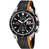 Lotus 18103/4 - Reloj de pulsera hombre, Caucho, color Negro
