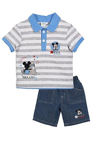 Mickey Mouse bebé-niños Camiseta y Short
