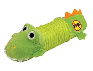 Petstages Just for Fun Big Squeak Gator Dog Toy