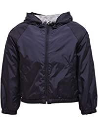 MONCLER 1078Y Giacca antivento Bimbo Boy EUSTACHE Blue Wind Stopper Jacket